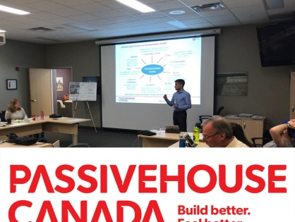 JBAI Attends Passive House Canada Course